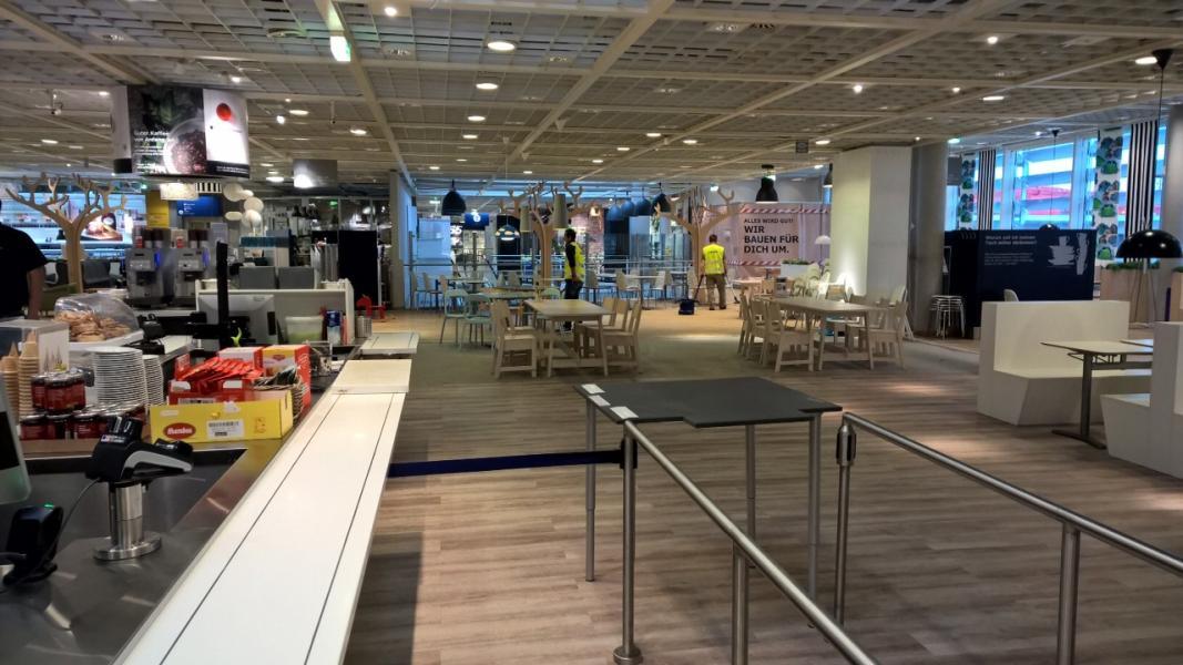 neugestaltung des kundenrestaurant bei ikea salzburg otmar st ber. Black Bedroom Furniture Sets. Home Design Ideas