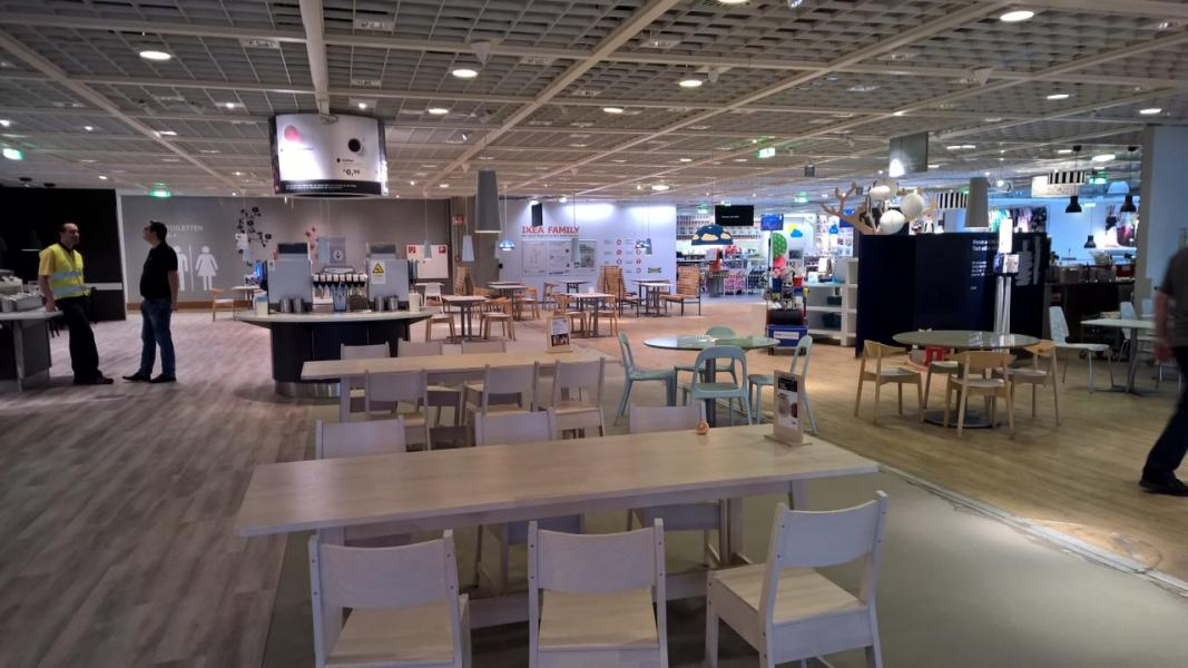 neugestaltung des kundenrestaurant bei ikea salzburg otmar st ber. Black Bedroom Furniture Sets. Home Design Ideas